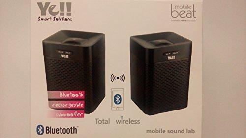 Silva Schneider Bluetooth Lautsprecher SP-BT 1401 Duo Schwarz