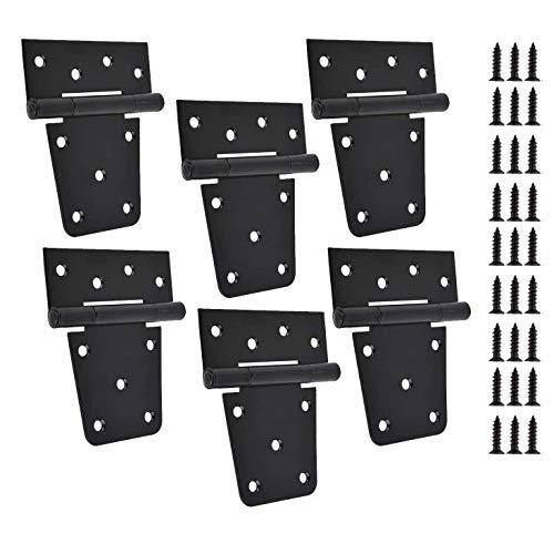 Cerniere quadrate da 7,6 cm (confezione da 6) robuste cerniere per cancello
