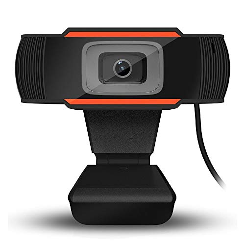Lepeuxi 720P Webcam Computer USB-Kamera mit Mikrofon Für Live-Streaming Online-Unterricht Videoanrufe, Konferenzen, Spiele
