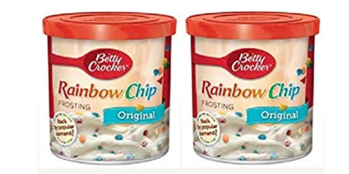 Betty Crocker Original Rainbow Chip Frosting, 16 oz. (Pack of 4)