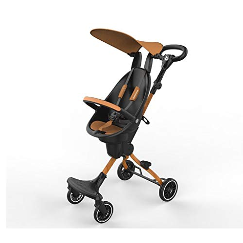 Review Of Lcb Baby Carriage Stroller, Foldable and Lightweight Two-Way Stroller, high-View Simple Sh...