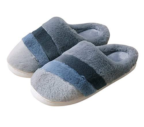 Otoño e Invierno, Zapatillas de Felpa para Mujer, Calidez para el hogar,...