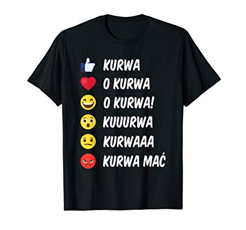 Kurwa Mac Polnisches Slang Design für Polen T-Shirt