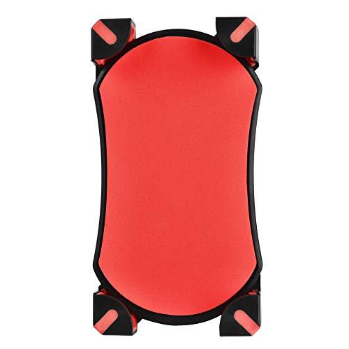 Santing Tenedor Durable del teléfono de la Bici del Tenedor del teléfono del GPS del teléfono Celular para el teléfono(Red)
