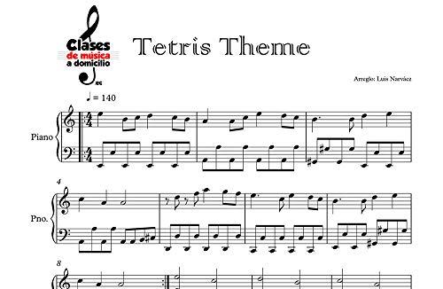 Tetris Theme - Sheet Music for Piano: Instrumental Version (Sheet Music for Piano 1 Book 2) (English Edition)