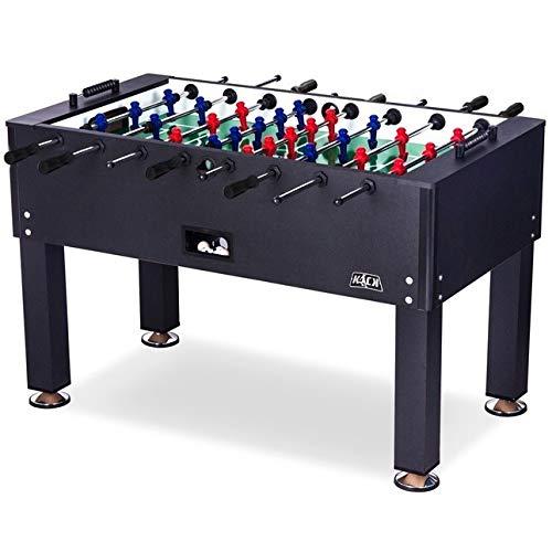 KICK Onyx 55″ in Foosball Table (Black)