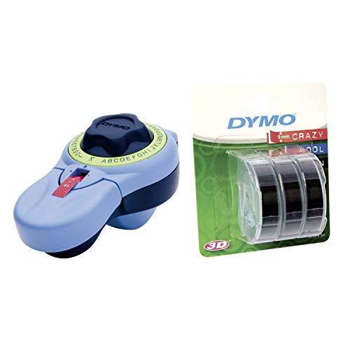Dymo Junior Etikettenprägegerät für den Heimbedarf von Dymo (Junior, Prägegerät + 3er Etikettierband schwarz)