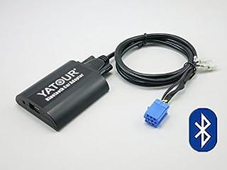 Adaptador Bluetooth para coche Fiat Alfa Romeo, adaptador de audio estéreo de coche digital con carga USB y entrada de audio de 3,5 mm para Fiat 1995-2011, Alfa Romeo 1997-2011 (BTA-FA)