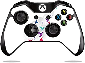 MightySkins Skin Compatible with Microsoft Xbox One or One S Controller - Paper Birds   Protective, Durable, and Unique Vinyl wrap Cover   Easy to Apply, Remove, and Change Styles   Made in The USA