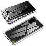 Jonwelsy Anti-Spy Funda para Samsung Galaxy S20, 360 Grados Proteccion Case, Privacidad Vidrio Templado Anti espía...