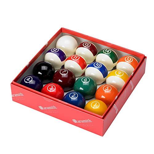 "Aramith Continental 2 1/4"" Billiard Regulation Pool Ball Set/16 Balls"