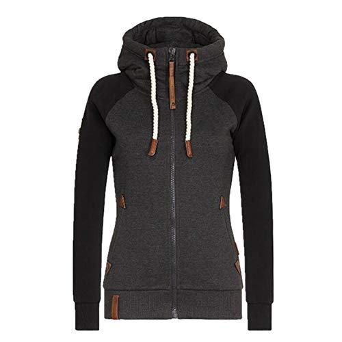 Sudadera con capucha para mujer, talla 5XL, informal, con capucha, con capucha