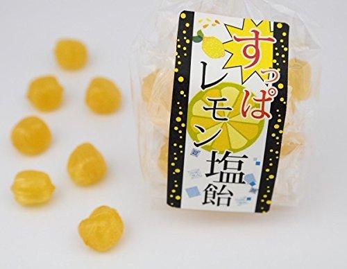 すっぱレモン塩飴 塩あめ 1袋 70g入り