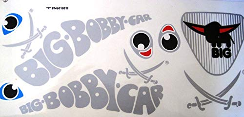 BIG Bobby Car Stickers Aufkleber Sansibar