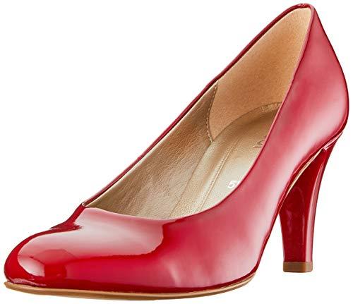 Gabor Basic Pumps in Übergrößen Rot 95.310.75 große Damenschuhe, Größe:42