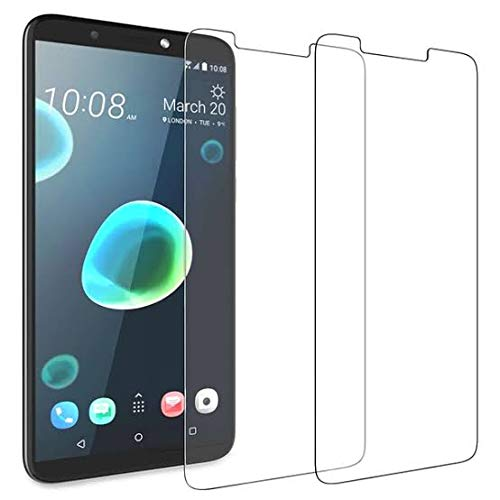 WE-CARE Tempered Glass with Nano tech Technology 0.26mm Highly Transparency Matte Screen Protector for HTC Desire 12 Plus (Pack of 1)