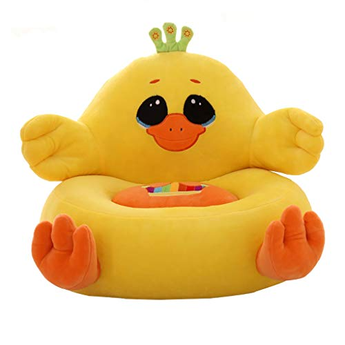 Enfant jouets Petit Canapé Coton PP Fauteuil Thème Canard pour 1-5 Ans Garçon Fille 40×40cm