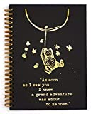Slothoem Adventure was about to happen | Inspirational winnie the pooh Spiral Notebook/Journal | Motivationa Birthday Christmas Graduation Gift for Best Friends/sisters