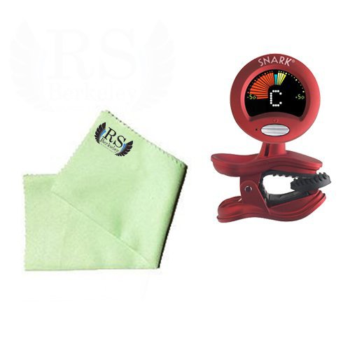 Cello Tuner Pack - Snark SN2 All Instrument Tuner with Tap Tempo Metronome Includes Bonus RS Berkeley Cello Cleaning Cloth