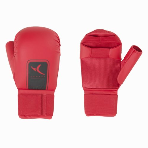 Domyos Memzzi Handschuhe Karate Rossi