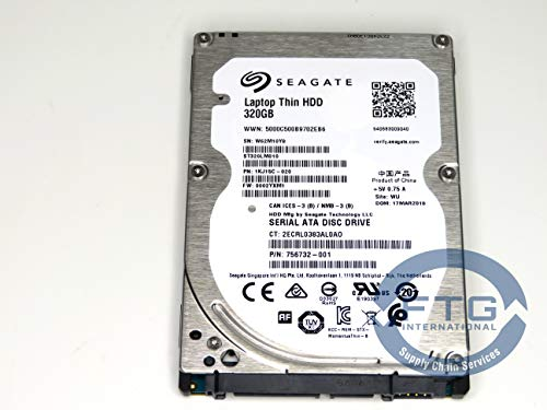 FTG International 634862-001 / ST320LM010 SPS-DRV HDD 320 GB 7200 RPM SATA RAW 7 mm