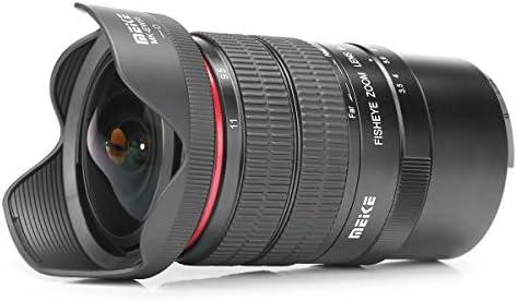 Meike MK avec Objectif fisheye 611mm f35 Format de capteur APSC pour Sony E Mount
