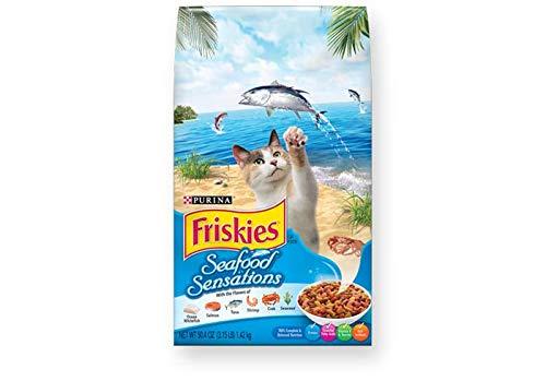 Friskies Nestle Seafood Sensations Cat Food, 1.2 kg