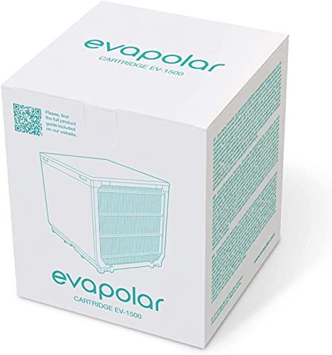 Evapolar Ersatz-Kartusche für persönliche Verdunstungskühler und Luftbefeuchter/tragbare Klimaanlage (für EvaLIGHT Plus EV-1500), schwarz