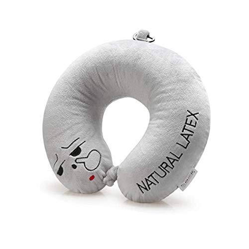 Zacht Nekkussen Latex U-kussen Portable Schouder Travel Flying Pillow Protection Neck Comfortabel (Color : G)