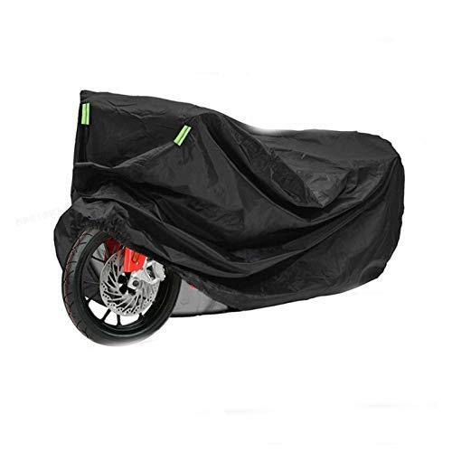 Cubierta de cochera a Prueba de Agua de la Cubierta del Coche de la Motocicleta Universal 190T con la Cubierta de Nieve con la Tira Reflectante (Size : M 200x90x100cm)