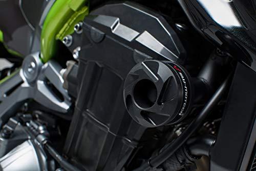 SW-MOTECH Sturzpad-Kit, Schwarz für Kawasaki Z900 (16-) / Z900RS (17-)
