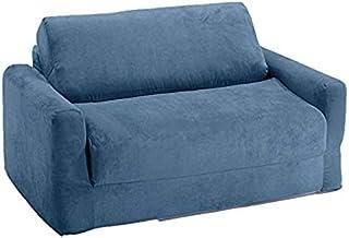 Fun Furnishings Sofa Sleeper, Blue