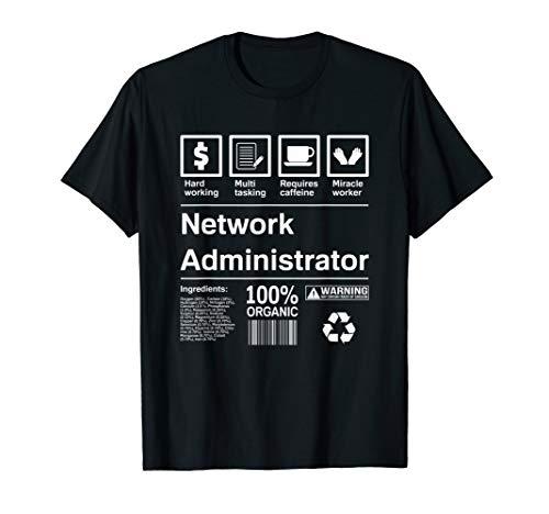 Funny Netzwerk Administrator T-Shirt
