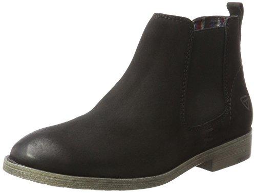 Tamaris Damen 25071 Chelsea Boots, Schwarz (Black), 38 EU