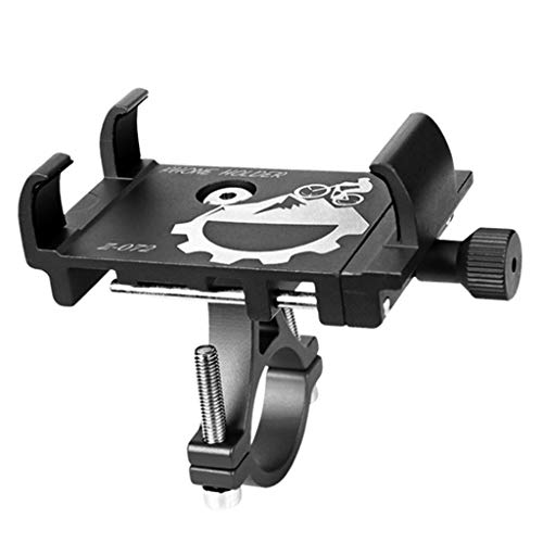 TISHITA Abrazadera de montaje de teléfono de bicicleta Anti Vibración y accesorios estables de bicicleta, soporte de teléfono de bicicleta para teléfonos - de titanio