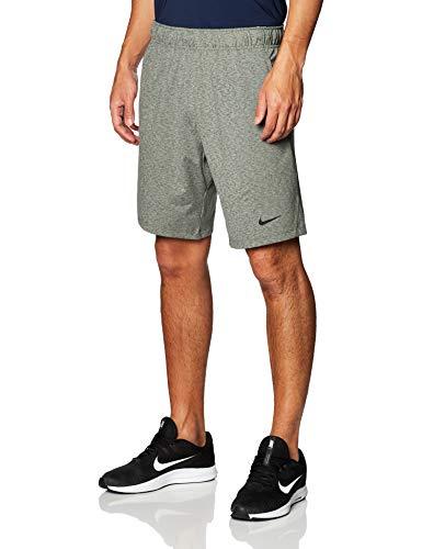 Nike Drifit Men's Yoga Training Sh Uomo, Galactic Jade/Htr/Black, L