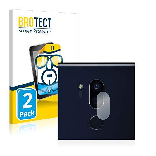 brotect Pellicola Protettiva Compatibile con LG G7 ThinQ (Solo Camera) Pellicola Trasparente (2 Pezzi) Anti-Impronte