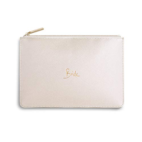 Maia Gifts Bride Metallic White Perfect Pouch Bag