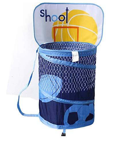 Basketball Hoop Laundry Basket Hamper