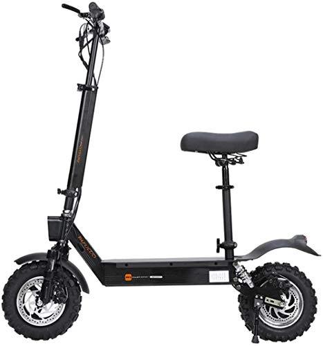 XBSLJ Scooter, Roller Kinderroller Smart Elektroroller 48V / 1000W Motor Kick Faltbarer Roller 50 km/h 100 km Langstrecken-Offroad-Skateboard-Longboard für Erwachsene