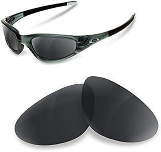 sunglasses restorer Lentes de Recambio Polarizadas Black Iridium para Oakley Old Straight Jacket