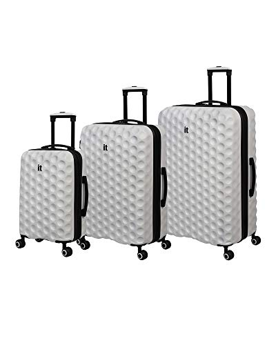 it luggage Bubble-Spin 4 Wheel HardSide, Cloud Dancer, 3 Piece Set