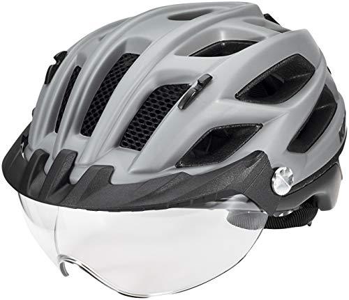 KED Covis Lite Helm Grey Black matt Kopfumfang L | 55-61cm 2020 Fahrradhelm