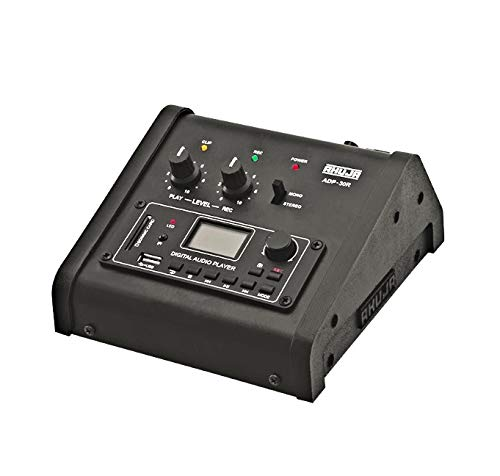 AHUJA ADP-30R Preamp with Built-in MP3 Player and Recorder with USB and Bluetooth Inputs