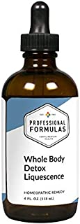 Prof. Complementary Health Formulas Whole Body Detox Liquescence 4oz