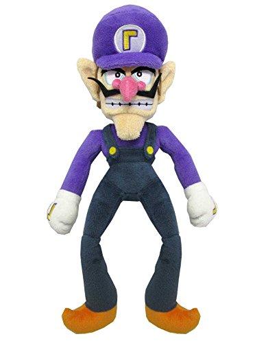Super Mario ALLSTAR COLLECTION 09 Stofftier Kuscheltier Plüsch Figur Plüschtier: Waluigi 34 cm (S)