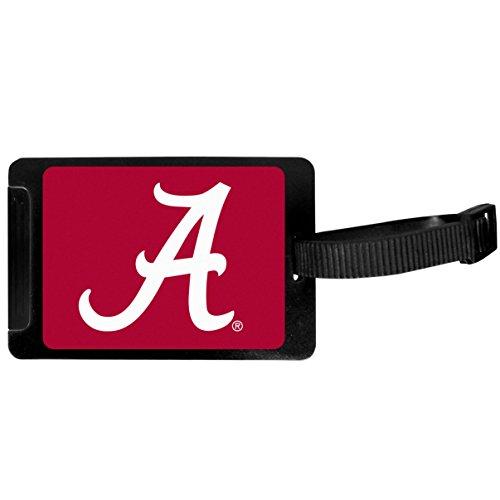 Siskiyou Sports Unisex NCAA Alabama Crimson Tide Luggage Tag, Black, 3.25