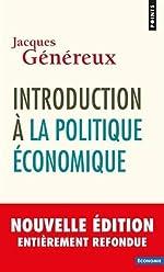 Introduction à la politique économique de Jacques Genereux