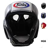 Bangplee_Sport Fairtex HG6 Competition Head Guard - Protective for Boxing, Kick...
