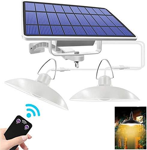 DC Wesley Luces solares, Luces LED al Aire Libre, Luces de Porche Recargable Solar Ajustables, adecuadas para Jardines de Flores, Parques, Balcones y terrazas (Size : Warm White)